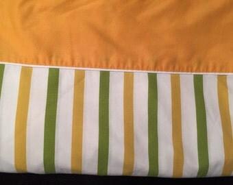 Groovy striped Vintage Twin Sheet set