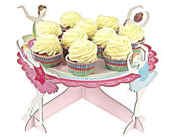 Ballerina Cake or Cupcake Stand - The Ballet Theatre