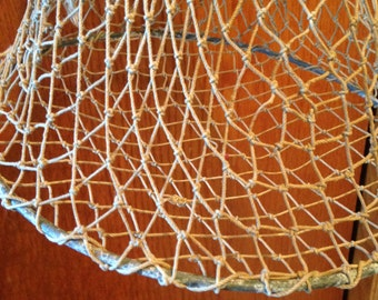 Vintage Fishing Net Boatside Fish Net Clamp