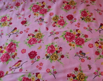 Cotton bird pink