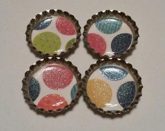 Fridge magnets Dots set of four
