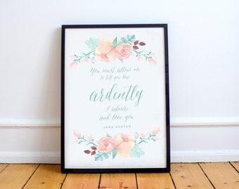 Jane Austen Quote Download
