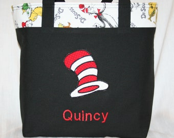 Dr. Seuss Tote Bag, Cat In The Hat
