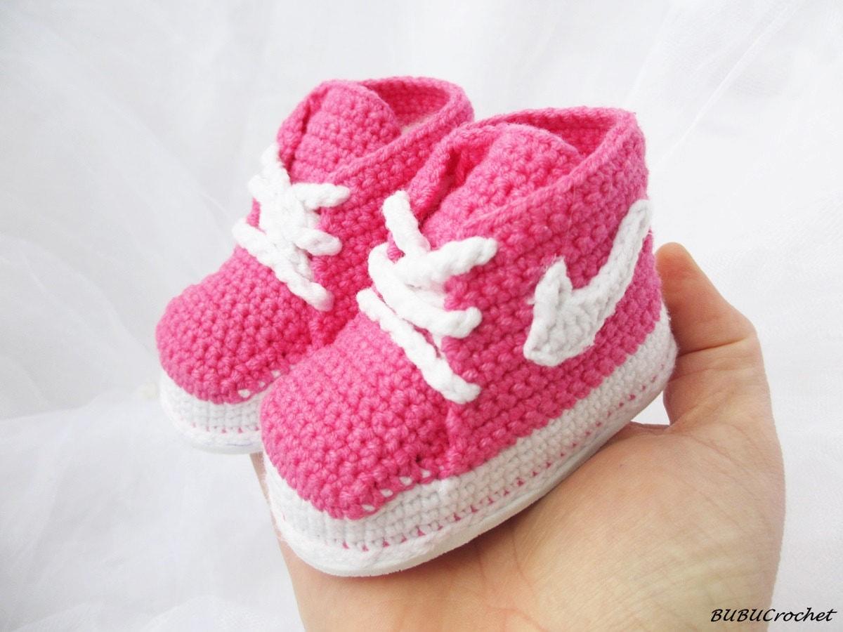 Crochet baby Sneakers crochet baby shoes crochet baby
