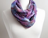 Hand Dyed Scarf - Purple ...