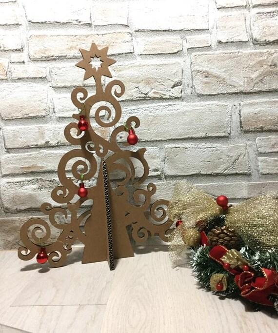 Bien connu Albero artistico eco design Albero di Natale di cartone KB28