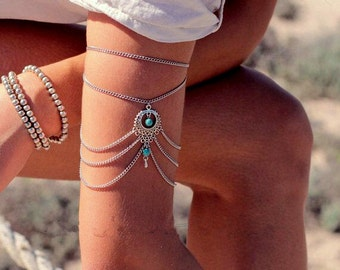 Anklet Jewelry/ Tribal Bracelet