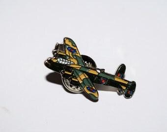 Lancaster/Spitfire/Vulcan/Red Arrows Aeroplane Enamel Pin Badge-Aviation Gift
