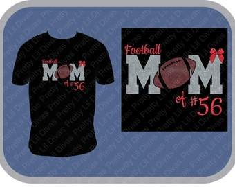 Cute football mom shirt