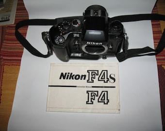 NIKON F4 CAMERA 35mm
