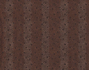 Andover Fabrics - Jo Morton Luminarias Series - Brown Print - 5192N - Two Piece Bundle