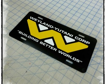 Weyland Yutani Corp Custom License Plate