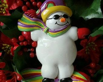 The coolest surfer -  Snowman