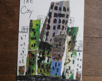 The city-copied drawing postcards-set order