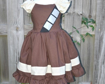 Inspired by Chewbacca Dress, Inspired by Chewie Dress