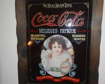 Coca Cola Hanging Wall Advertising Picture