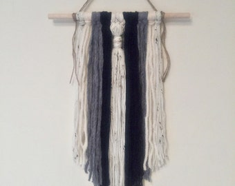 Blue, Grey and Cream Wall hanging