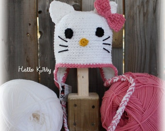 "Bonnet ""Hello Kitty"" (on order)"