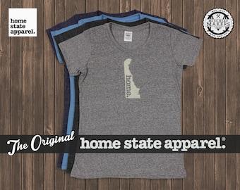 Delaware Home. T-shirt- Womens Cut