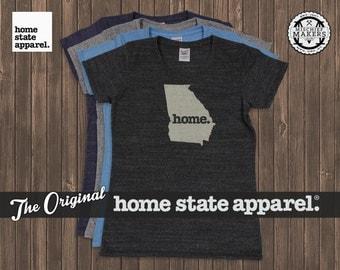 Georgia Home. T-shirt- Womens Cut