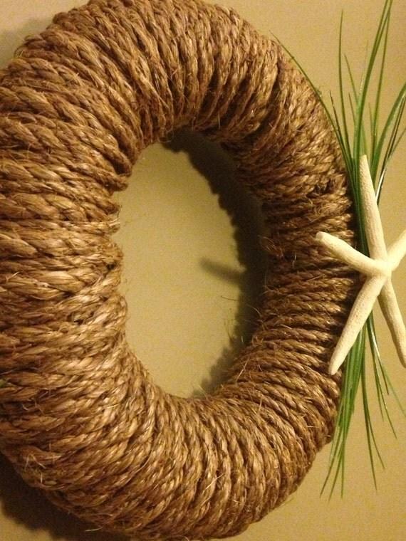 Nautical Rope Wreath