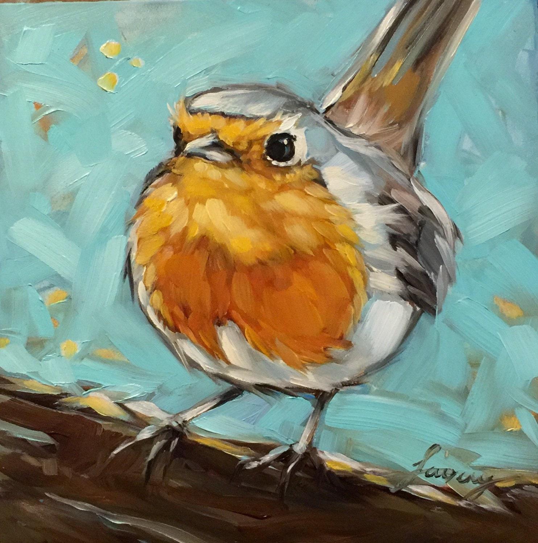 Bluebird Painting Tutorial - Free Time Lapse Acrylic ...  |Bird Painting Acrylic