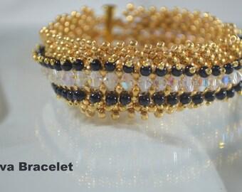 DIVA - Tuxedo Style Bracelet