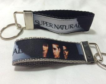 Supernatural strap keychain gray