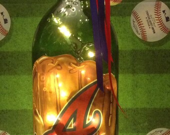 Atlanta Braves 1.5 Liter Lighted Wine Bottle