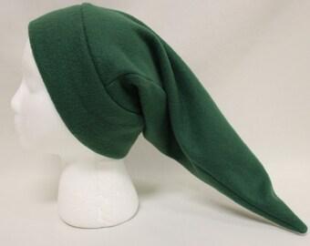 Dark Green Link Fleece Hat Zelda Cosplay Costume