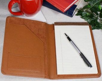 Personalized Medical Leather Portfolio