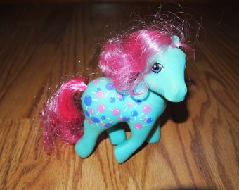 My Little Pony G1 Twice as Fancy Sweet Tooth Vintage Ponies