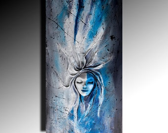 Abstract Wall Sculptures Relief Painting 3D Fine Art Painting