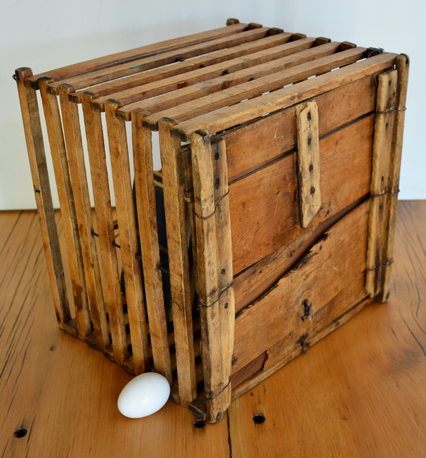 40 best Antique/ Egg Carriers images on Pinterest | Wooden ...  |Egg Crate Shelving