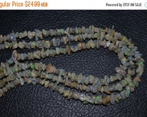"35%Dis 8"" Strand-5-7mm-Beautiful-Rare Multi Fire Play Ethiopian Welo Opal Beads-Untreated Natural"