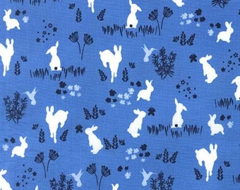 One Yard - 1 Yard of Frolic in Breeze - HOUSE OF HOPPINGTON by Violet Craft - Michael Miller Fabrics