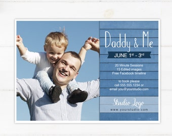 DIY - Father's Day Mini Session Template - Instant Download 004