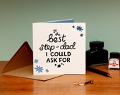Best Step-Dad Father's Day Card