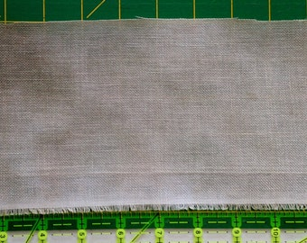 "Hand Painted Dyed Linen for Cross Stitch - Crossed Wing Collection - ""Desert"" gray tonal"