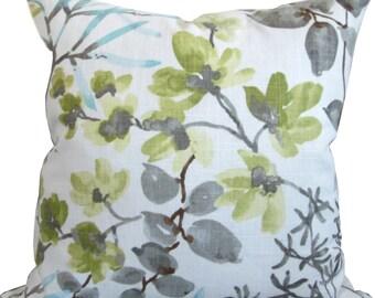 Kudzu Floral Decorative Pillow Cover-Kravet-Pillow Cover-Toss Pillow-Throw Pillow-Accent Pillow-Sofa Pillow-Double Sided