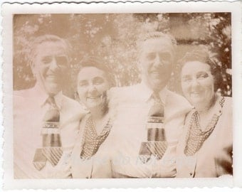 Vintage Polaroid Photo ~ double image
