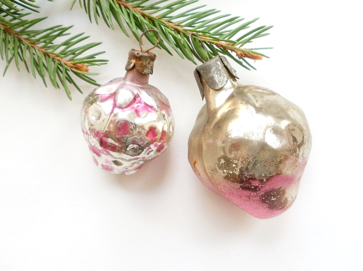 Antique Christmas Ornaments 1950s Christmas By Vintagepresents