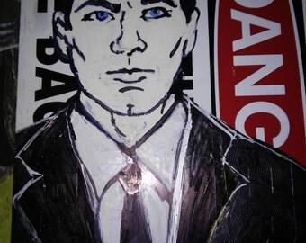 """Archer """"Danger Zone"""" Fan Art"""