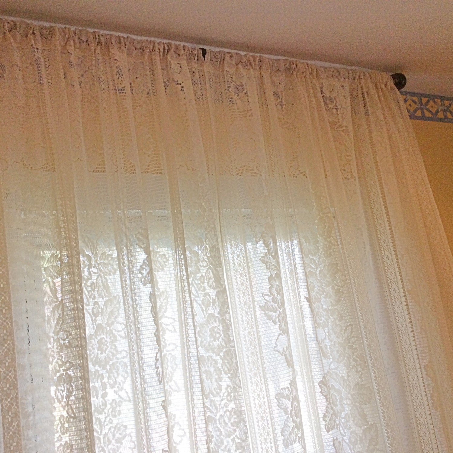 Vintage Window Curtains 16