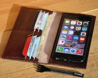 iphone 6 plus case, iphone 6 plus wallet case, leather wallet with silicone case for Iphone 6 plus, iphone 6s plus case, leather clutch