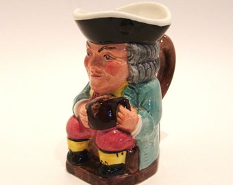 Miniature Toby Character Jug Kelsboro Ware Made in England 3.75 Inches Tall