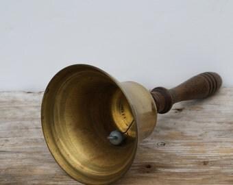 Large Vintage School Bell