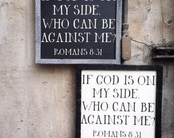 Romans 8:31 sign