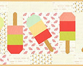 "Mini Popsicles Pattern, measures approx. 12"" x 53"""