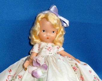 Nancy Ann Storybook Doll, NASB, Ring Around a Rosy, #159, Bisque, has Bracelet, No Original Box